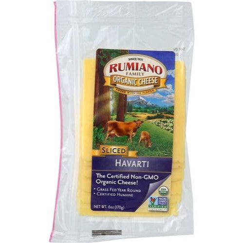 Cheese, Organic Havarti Slices 6 Oz.