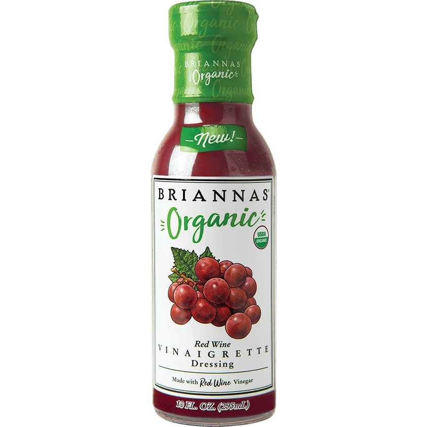 Dressing, Briannas Organic Red Wine Vinaigrette 10 Oz.