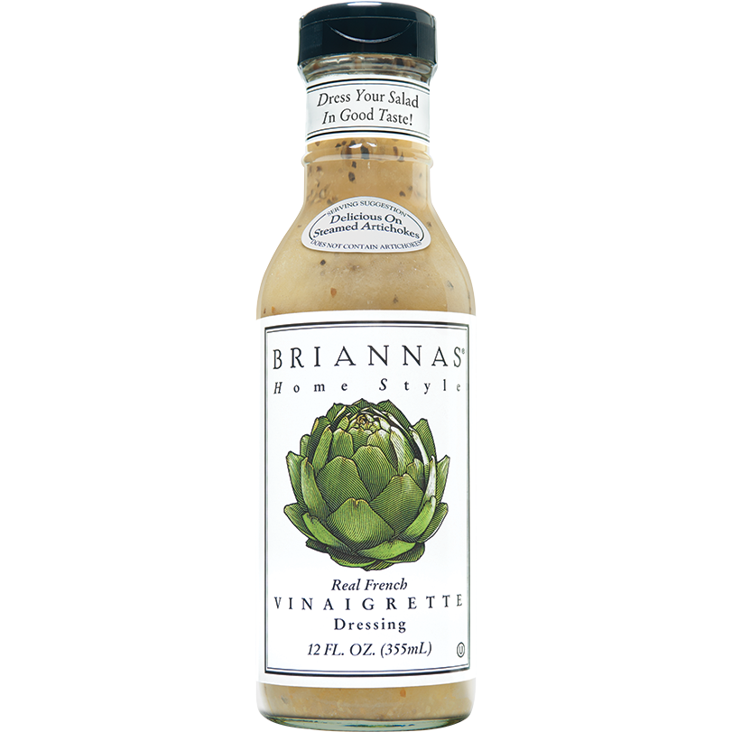 Dressing, Briannas Real French Vinaigrette 12 Oz.
