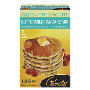 Pancake Mix, Pamela's Gluten Free Sprouted Buttermilk 12 Oz.