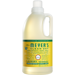 Laundry Detergent, Mrs. Meyers Honeysuckle 64 Oz.