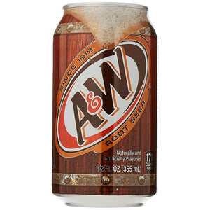 Soda, A&W Root Beer 12 Pk.