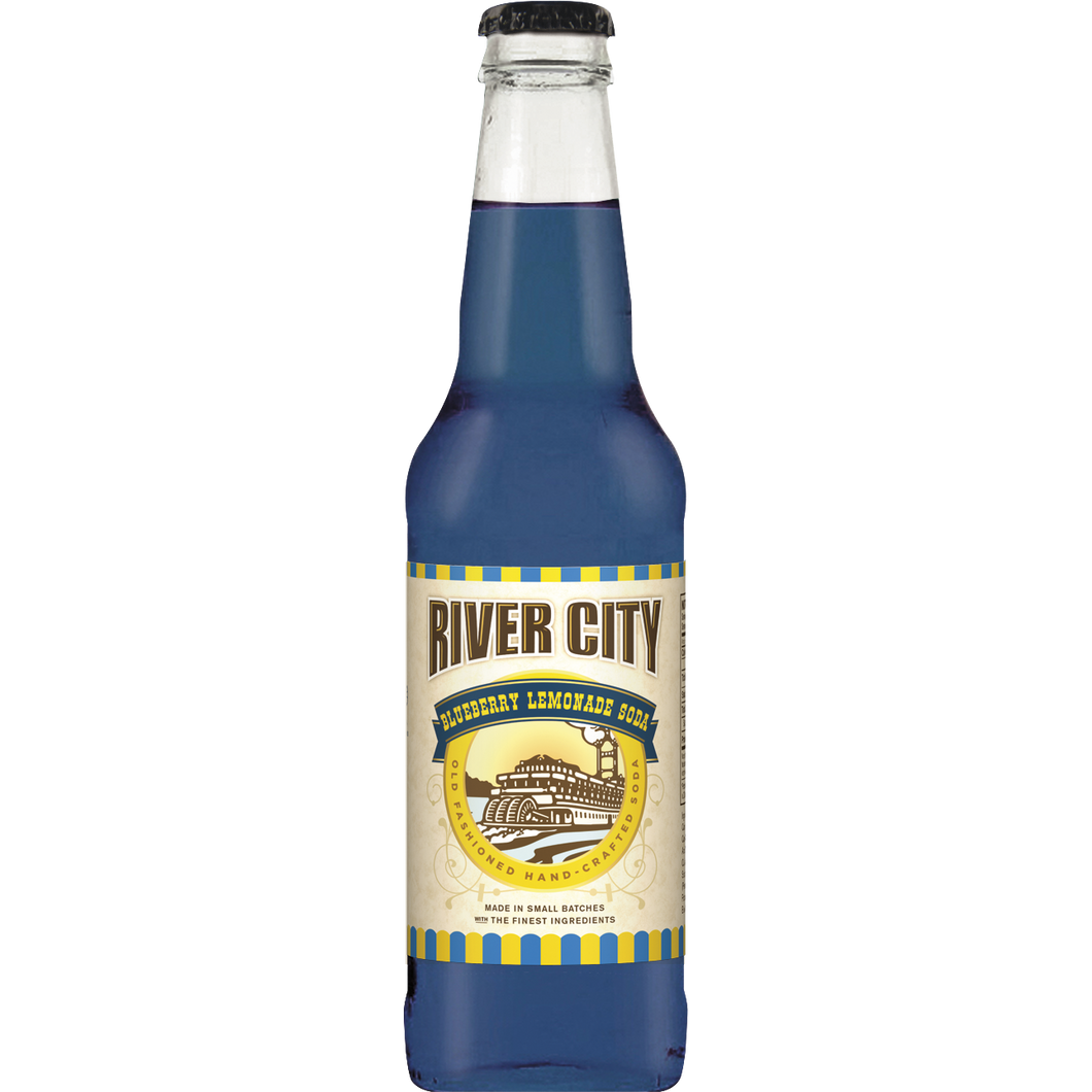 Lemonade, River City Craft Blueberry 12 Oz.