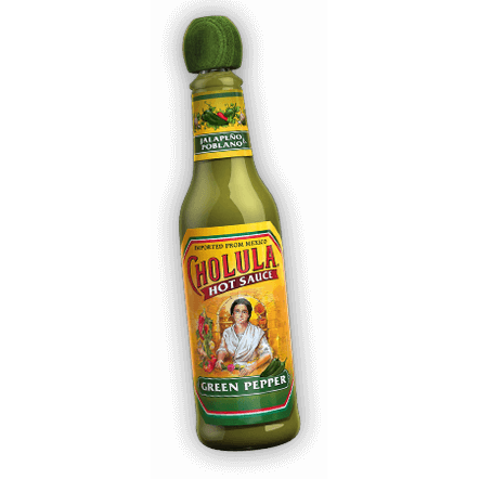Hot Sauce, Cholula Green Pepper 5 Oz.