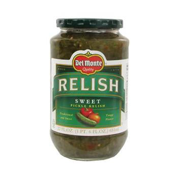 Relish, Del Monte Sweet Pickle 12 Oz.