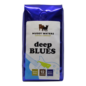 Coffee Beans, Muddy Waters Organic & Fair Trade Deep Blue 12 Oz.
