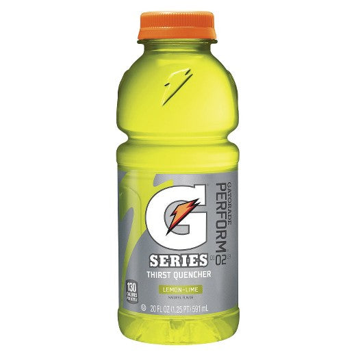 Gatorade, Lemon Lime 20 Oz.