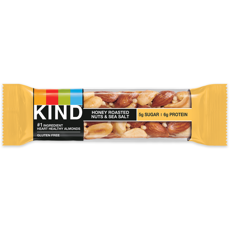 Bars, Kind Honey Roasted Nuts & Sea Salt