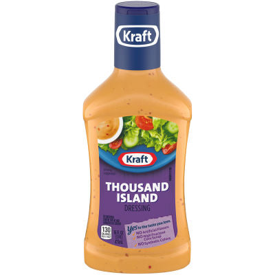 Dressing, Kraft Thousand Island 16 Oz.