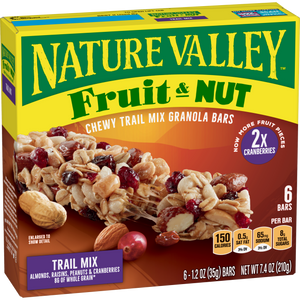 Bars, Nature Valley Fruit & Nut 16 Ct.