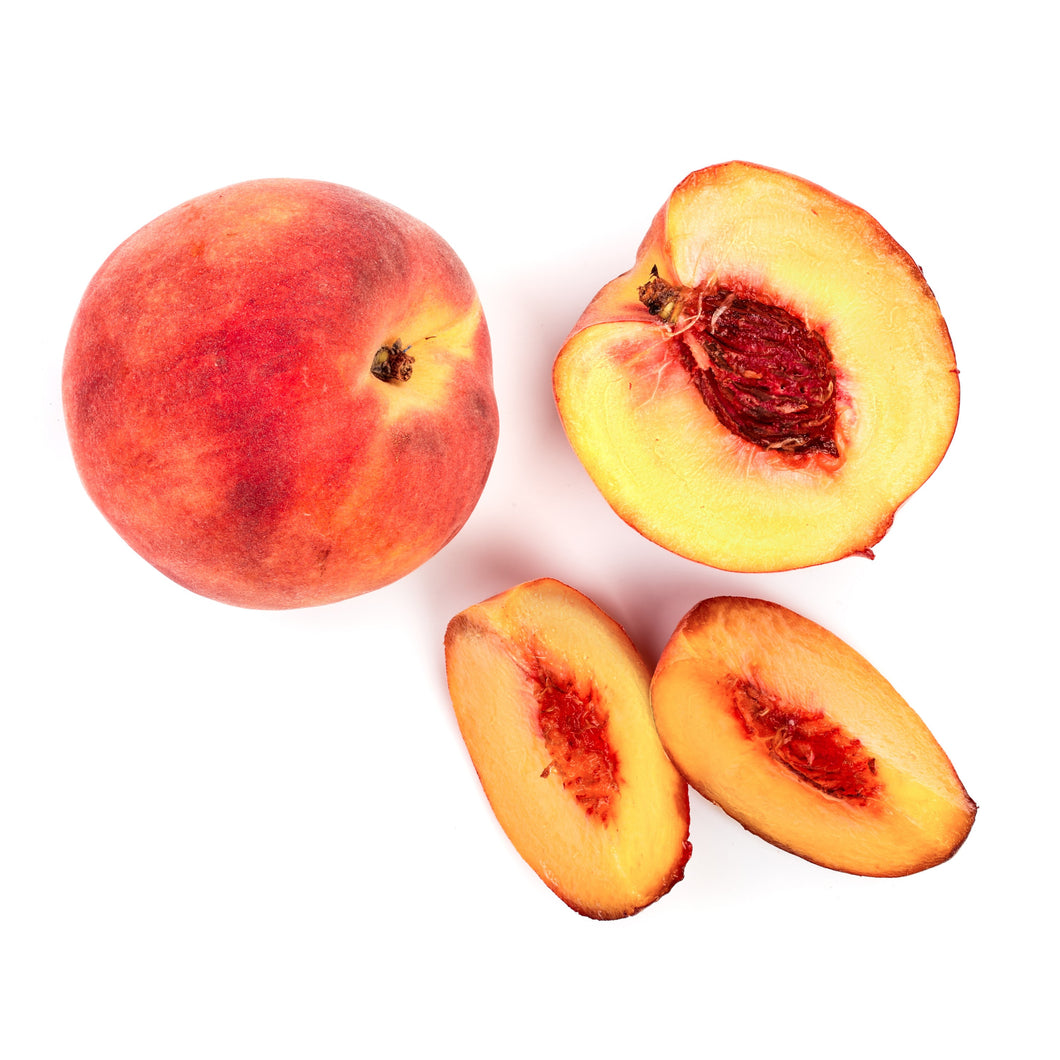 Peaches, Organic White 5 Ct. Locally Grown