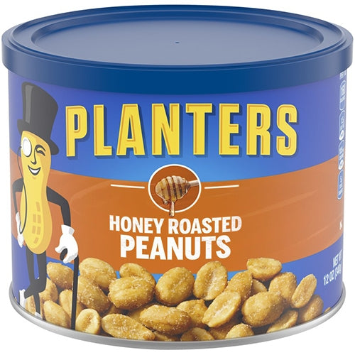 Nuts, Planters Peanuts Honey Roasted 8.75 Oz.
