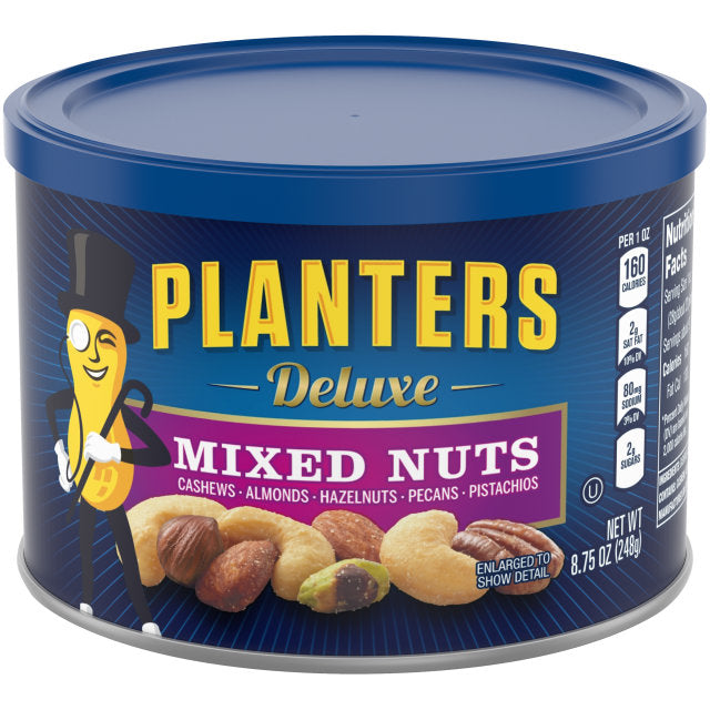 Nuts, Planters Mixed Deluxe 8.75 Oz.