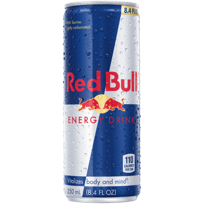 Energy Drink, Red Bull 8 Oz.