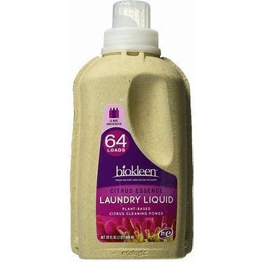 Laundry Detergent, Citrus Liquid 32 oz.