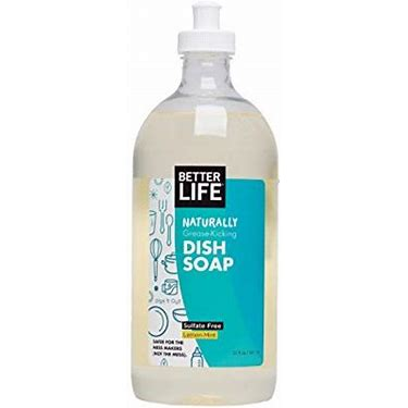 Dish Soap, Dish it Out Lemon Mint 22 oz.