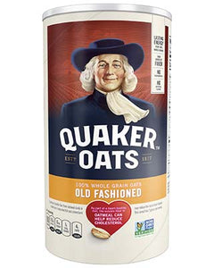 Oatmeal, Quaker Old Fashion 18 oz.