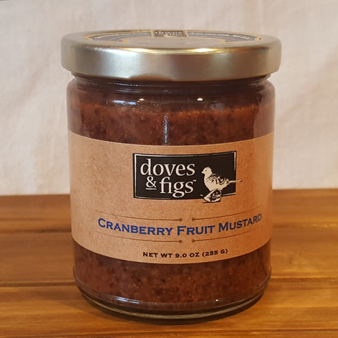 Cranberry Fruit Mustard