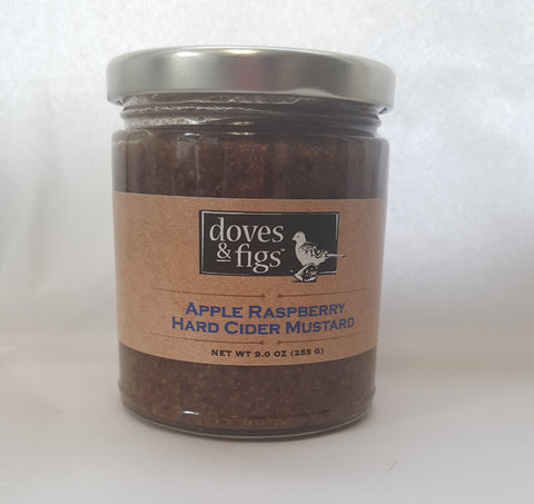 Apple Raspberry Hard Cider Mustard