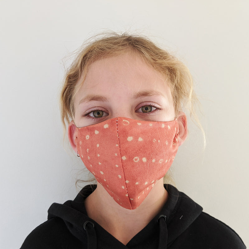 H18 Fabric Two Layer Face Masks