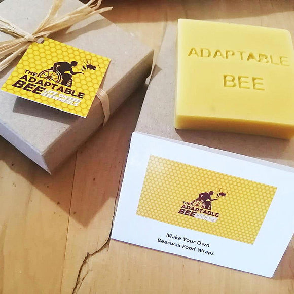Adaptable Bee Beeswax Food Wrap Kit home & decor Adaptable Bee