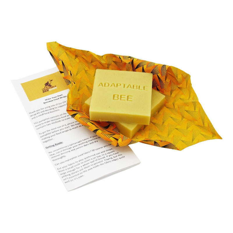 Adaptable Bee Beeswax Food Wrap Twin Pack Kit home & decor Adaptable Bee