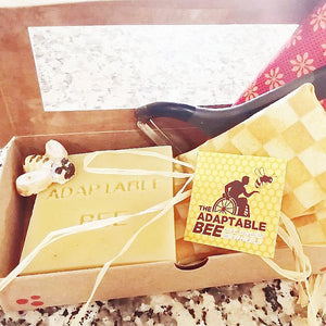 Adaptable Bee Deluxe Beeswax Food Wrap Kit home & decor Adaptable Bee