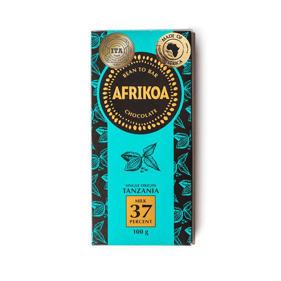 Afrikoa 37% Milk Chocolate 100g food Afrikoa