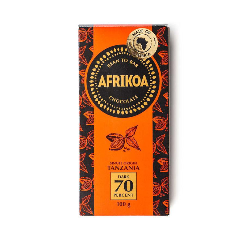 Afrikoa 70% Dark Chocolate 100g food Afrikoa