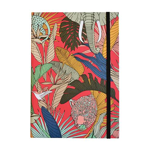 aLoveSupreme Lined A5 Wild at Heart Notebook stationery aLoveSupreme pink