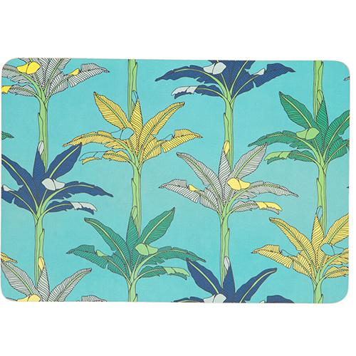 aLoveSupreme Wrapping Paper with Botanicals stationery aLoveSupreme blue palms