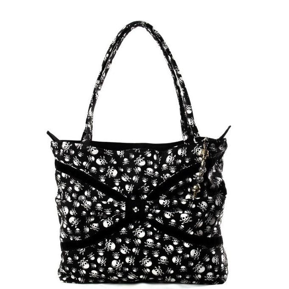 Black Velvet Fashions Black Skyler Rose Handbag clothing & accessories Black Velvet Fashions
