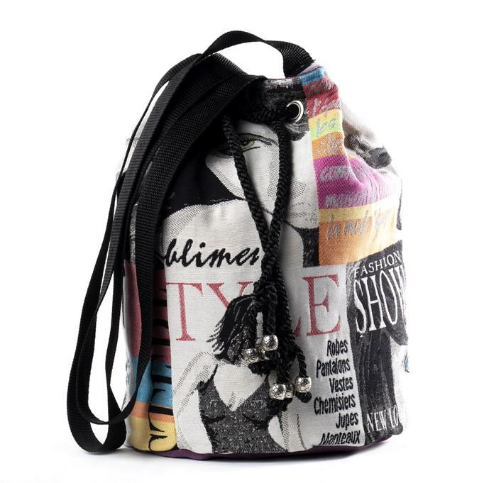 Black Velvet Fashions Ella Lily Drawstring Handbag clothing & accessories Black Velvet Fashions
