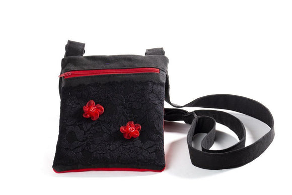 Black Velvet Fashions Gita Lily Handbag clothing & accessories Black Velvet Fashions