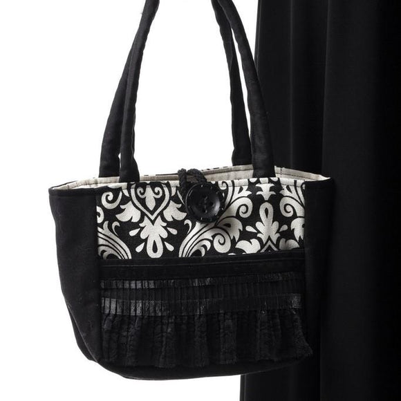 Black Velvet Fashions Scarlet Rose Handbag clothing & accessories Black Velvet Fashions