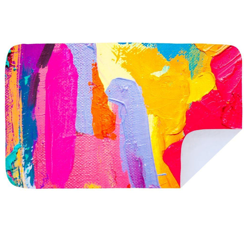 Bobums Abstract/Pattern Microfibre Towels clothing & accessories Bobums painted canvas XL - 160cm x 100cm