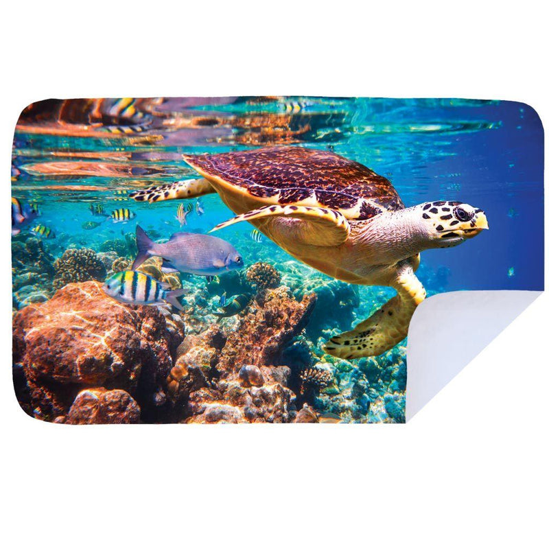 Bobums Animal Microfibre Towels clothing & accessories Bobums sea turtle XL - 160cm x 100cm