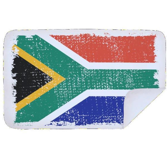 Bobums South African Microfibre Towels clothing & accessories Bobums distressed flag XL - 160cm x 100cm