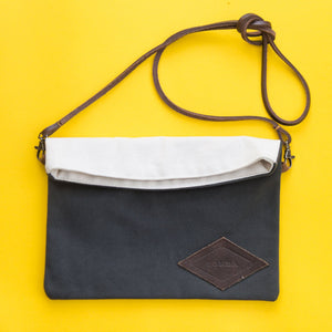 Bomba Bula Clutch Bag clothing & accessories Bomba Grey