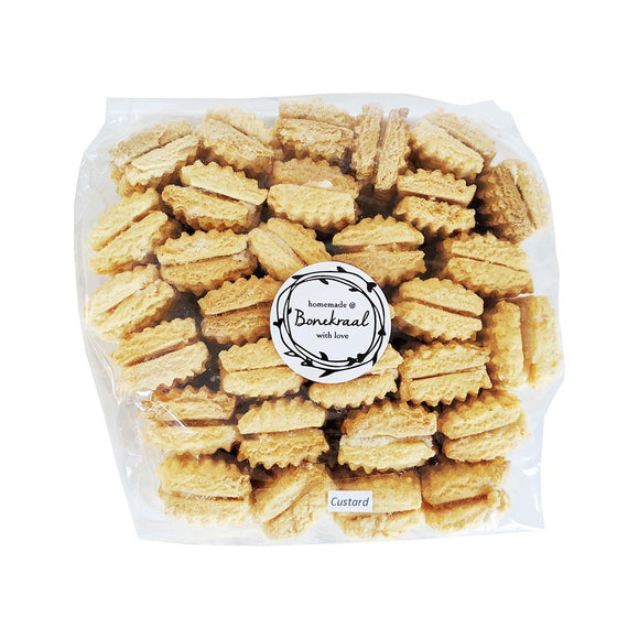 Bonekraal Homemade Custard Biscuits 500g food Bonekraal