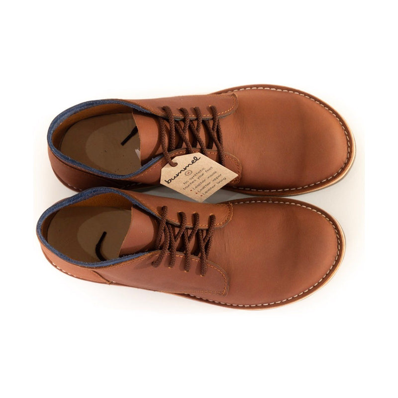 Bummel Ashura Smooth Medium Brown clothing & accessories Bummel Shoes