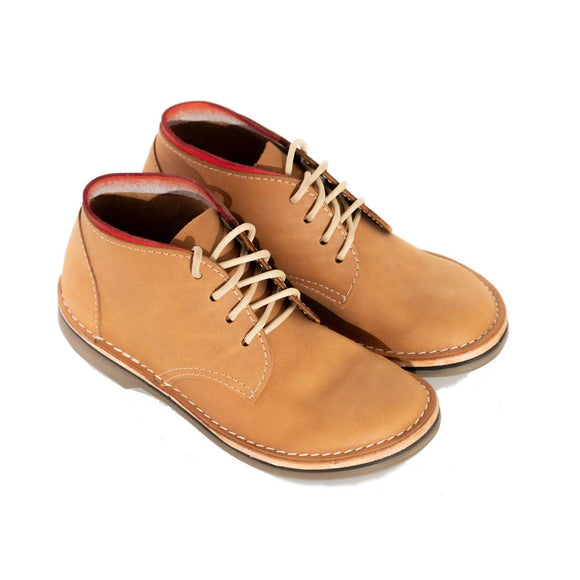 Bummel Ashura Smooth Tan Leather Shoe clothing & accessories Bummel Shoes