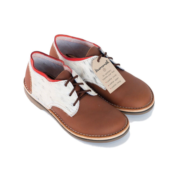 Bummel Azizi Medium Brown Nguni clothing & accessories Bummel Shoes
