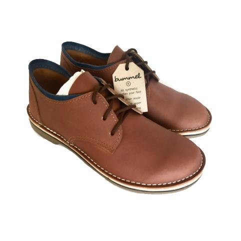 Bummel Azizi Smooth Medium Brown clothing & accessories Bummel Shoes