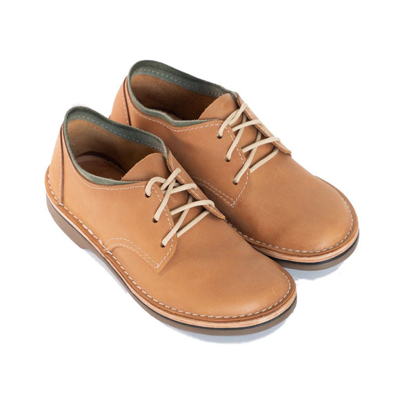 Bummel Azizi Smooth Tan clothing & accessories Bummel Shoes