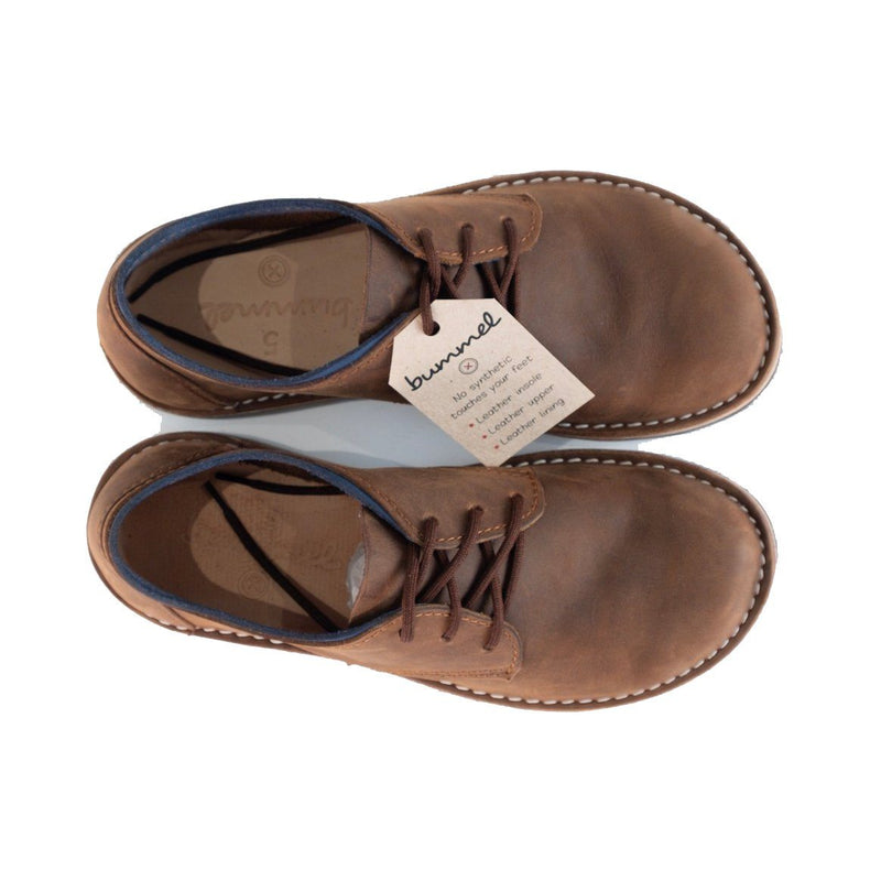 Bummel Azizi Soft Oily Pull Up Brown clothing & accessories Bummel Shoes