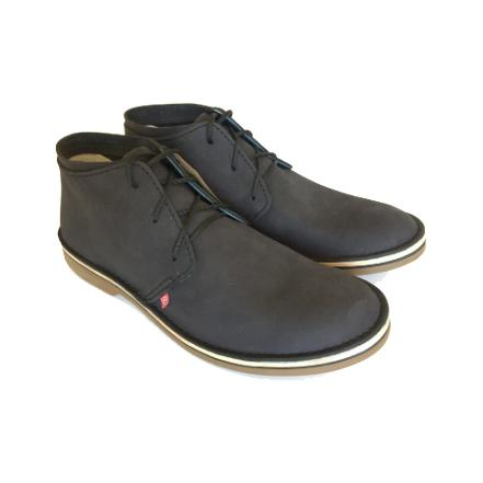 Bummel Zahara Black Leather Shoe clothing & accessories Bummel Shoes