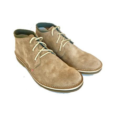 Bummel Zahara Taupe Suede Leather Shoe clothing & accessories Bummel Shoes