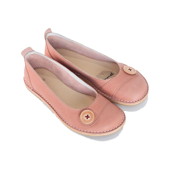 Bummel Zuri Button Pink clothing & accessories Bummel Shoes