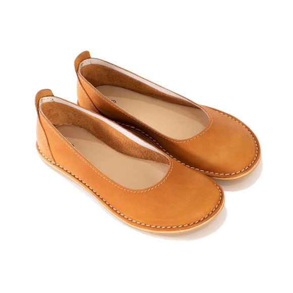 Bummel Zuri Plain Tan clothing & accessories Bummel Shoes